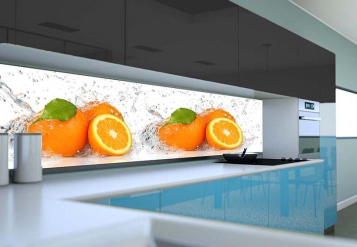 pomarańcze w kuchni